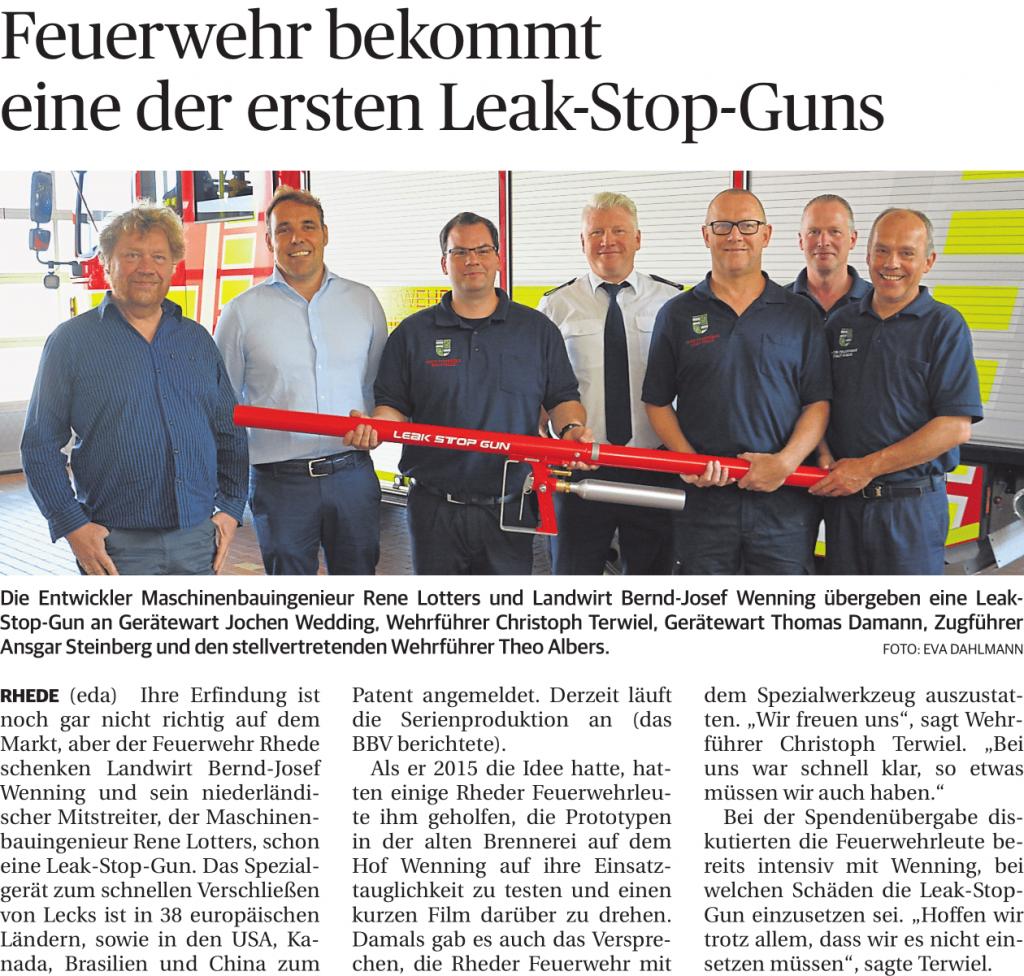 Feuerwehr Rhede Spende_leak_stop_gun-1